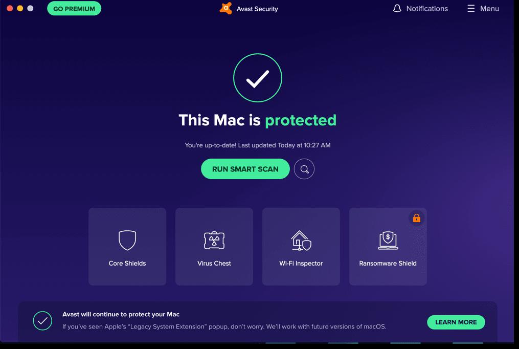 avast blocking websites